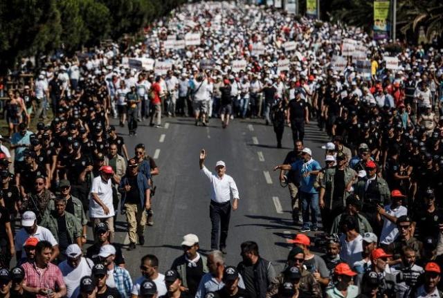 Bakın AKP Adalet Yürüyüşüne Neden Müdahale Etmemiş?