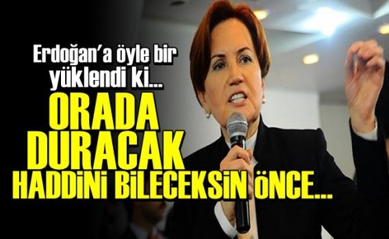 'Önce Haddini Bileceksin Erdoğan...'