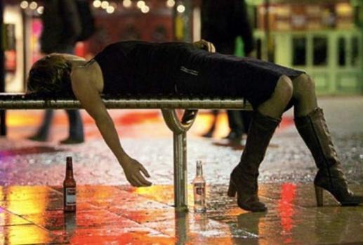 Alkolü Fazla Kaçıran 18 Hanım Kız!..