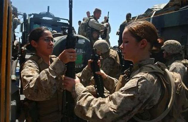 marines united kadın asker fotoğrafları