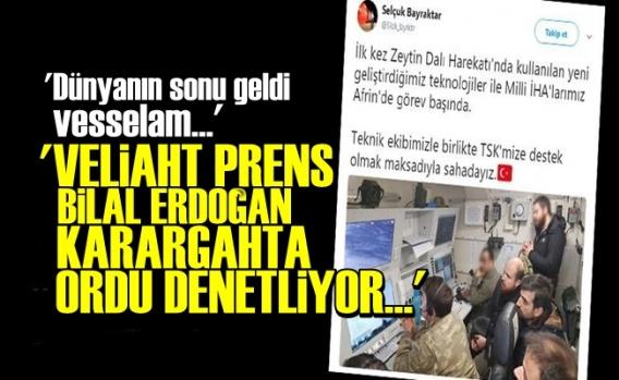 Bilal Erdoğan'ın Karargahta Ne İşi Var?