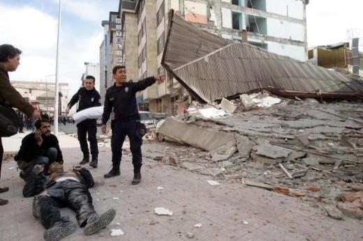 Deprem'den İlk Fotoğraflar