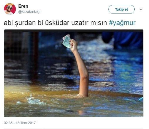 İstanbul'da Sel Felaketi Değil Rezilliği!
