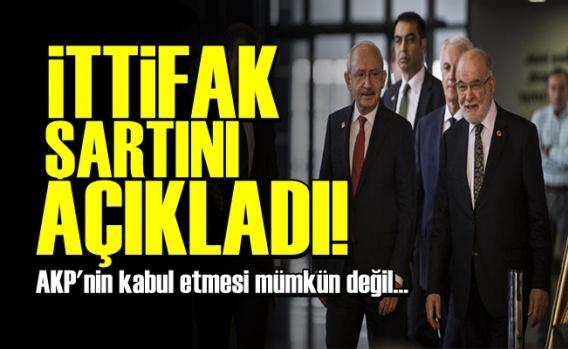 AKP ile İttifak Şartını Açıkladı!