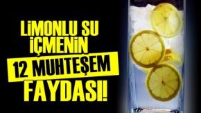 Limonlu Su İçmenin 12 Faydası!