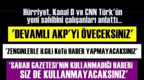 Hürriyet'in Yeni Sahibinin Skandal Talimatları!