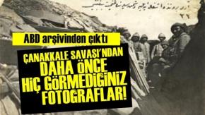 Çanakkale Savaşı'nın Hiç Görülmemiş Fotoğrafları!