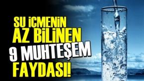 Su İçmenin Az Bilinen 9 Muhteşem Faydası!