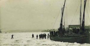 Buz Tutan İstanbul Boğazını İlk Kez Göreceksiniz!