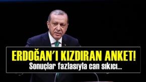 Erdoğan'ı Kızdıran Anket!