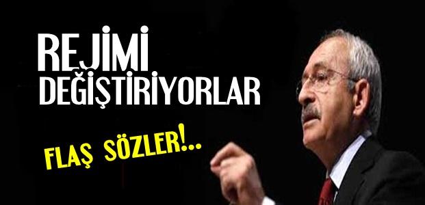 KILIÇDAROĞLU'NDAN FLAŞ SÖZLER...