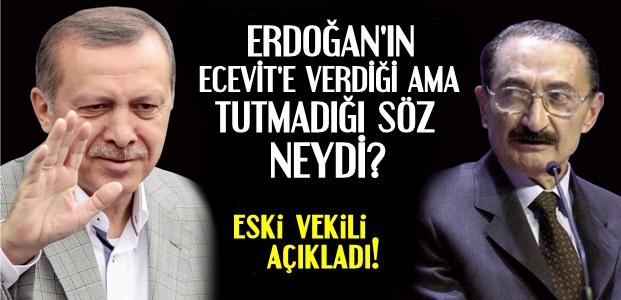 ECEVİT' 'TAMAM' DEMİŞ AMA...