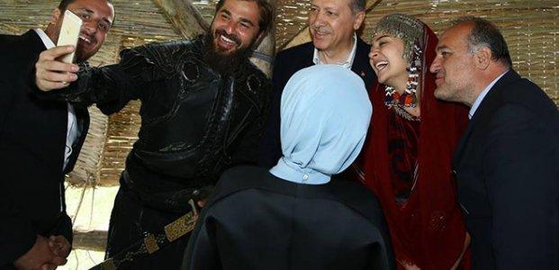 ERDOĞAN 'DİRİLİŞ'E SAHİP ÇIKTI...