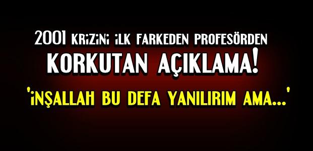 PROF. TARHAN 'YOK ARTIK' DEDİRTTİ...