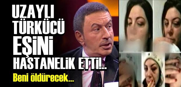TOPALOĞLU EŞİNİ HASTANELİK ETTİ!..