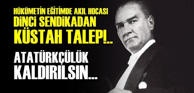 ATATÜRK'TEN ÖLESİYE KORKUYORLAR...