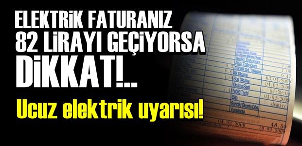 EMO'DAN UCUZ ELEKTRİK UYARISI!..