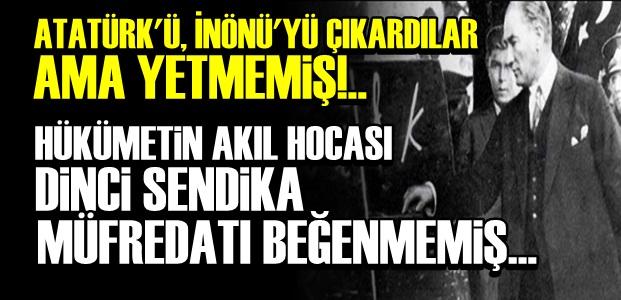 'İDEOLOJİK BİR DEĞİŞİKLİK YAPILMAMIŞ'