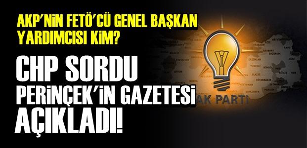 İŞTE AKP'Lİ O İSİM!..