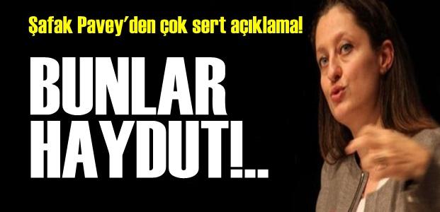 PAVEY: BUNLAR HAYDUT...