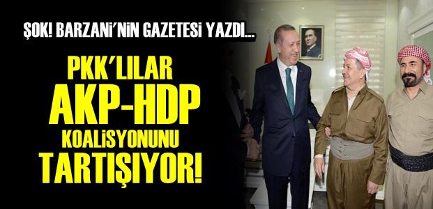 PKK, AKP-HDP KOALİSYONUNU TARTIŞIYOR!