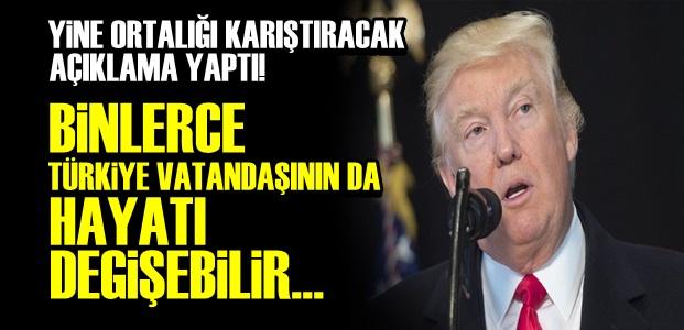 TRUMP SERTLEŞİYOR...