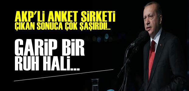 AKP'Lİ ANKET ŞİRKETİNİ ŞOKE EDEN SONUÇ!