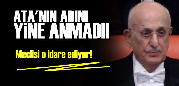 ATATÜRK DİYEMİYOR!..