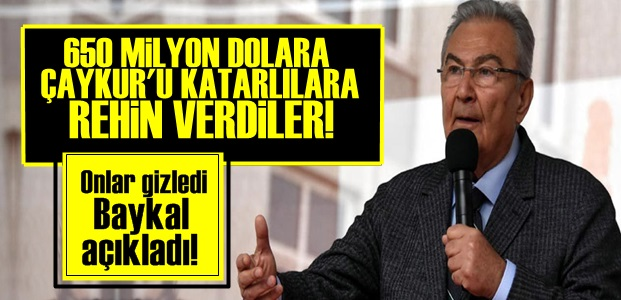 'ÇAYKUR'U KATARLILARA REHİN VERDİLER'