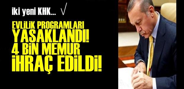 EVLİLİK PROGRAMLARI YASAKLANDI!