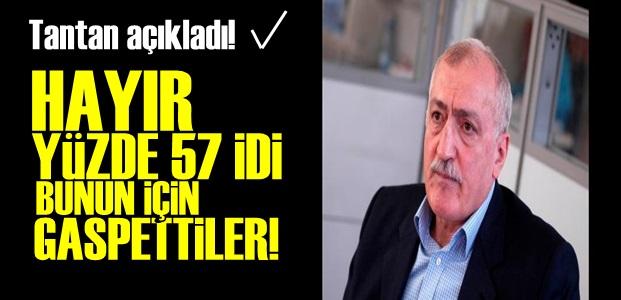 SADETTİN TANTAN'DAN FLAŞ AÇIKLAMA!