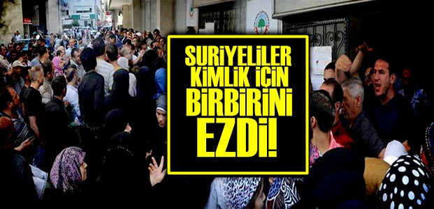 BİRBİRLERİNİ EZDİLER!..