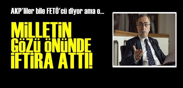CANLI YAYINDA İFTİRA FASLI...