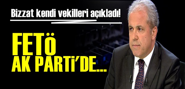 FETÖ AK PARTİ'DE!..