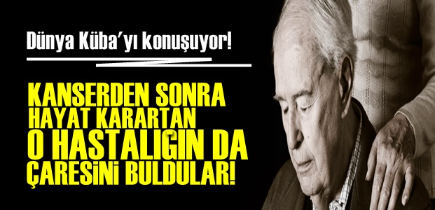 KÜBA'DAN YİNE TIP DEVRİMİ!..