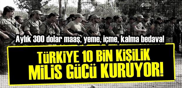 TÜRKİYE MİLİS ORDUSU KURUYOR!