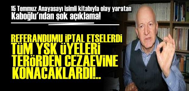 'YSK ÜYELERİ TERÖRLE SUÇLANIP...'