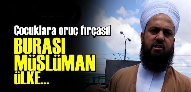 ÇOCUKLARA 'ORUÇ FIRÇASI'...