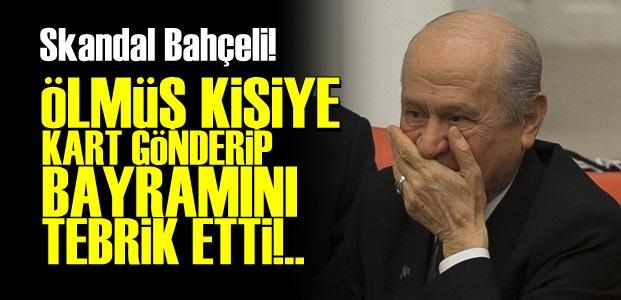 ÖLMÜŞ KİŞİYİ TEBRİK ETTİ!