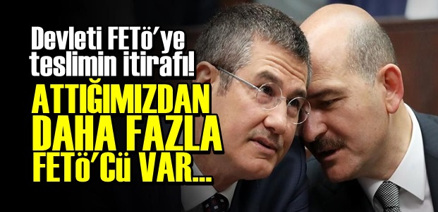 '111BİN KİŞİDEN DAHA FAZLA FETÖ'CÜ VAR...'