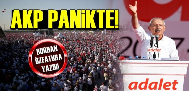 ADALET YÜRÜYÜŞÜ! AKP PANİKTE...