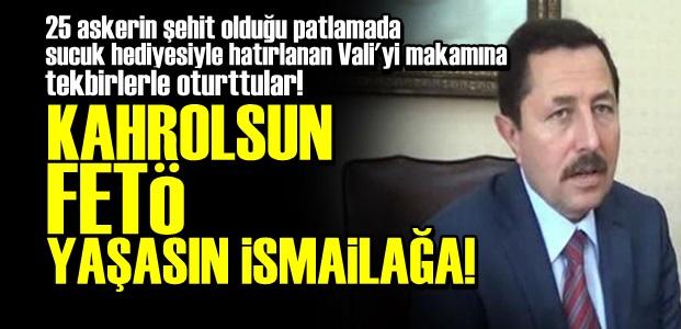 CEMAATÇİ VALİ MAKAMINA TEKBİRLERLE OTURDU!
