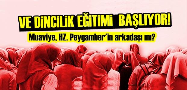 DİNCİLİK EĞİTİMİ BAŞLIYOR!..
