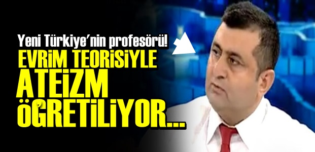 EVRİM TEORİSİ ATEİST YAPIYORMUŞ!