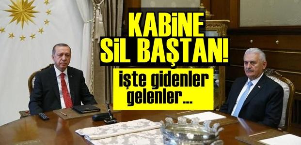 KABİNE SİL BAŞTAN!