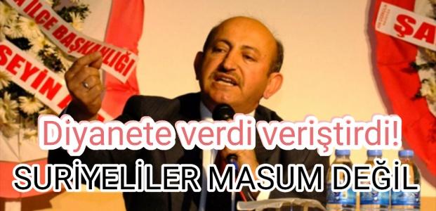 SKANDAL HUTBEYE SERT TEPKİ!
