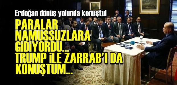 ERDOĞAN'DAN FLAŞ AÇIKLAMALAR!