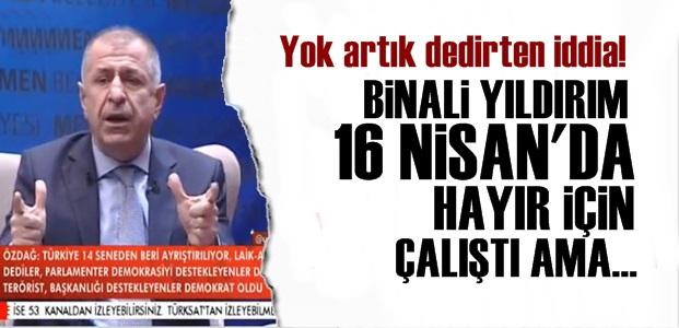 ÜMİT ÖZDAĞ'DAN BOMBA İDDİA!..