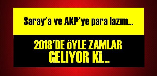 2018'DE ADETA ZAM YAĞACAK!..