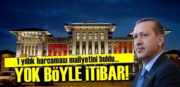 MİLLETİN SIRTINDAN HER YIL BİR SARAY!..